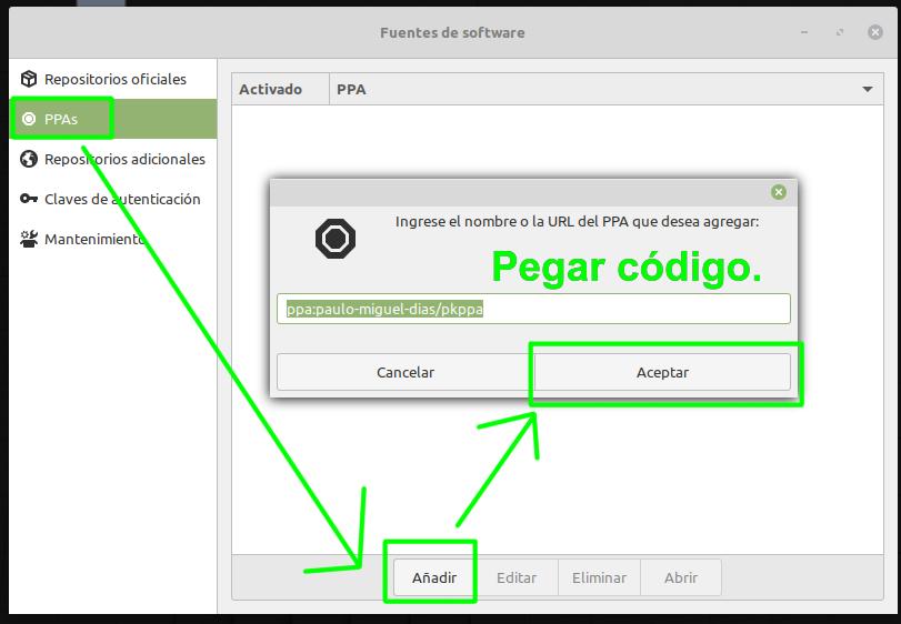 Añadiendo un repositorio a Linux Mint para actualizar los drivers de las gráficas AMD e Intel