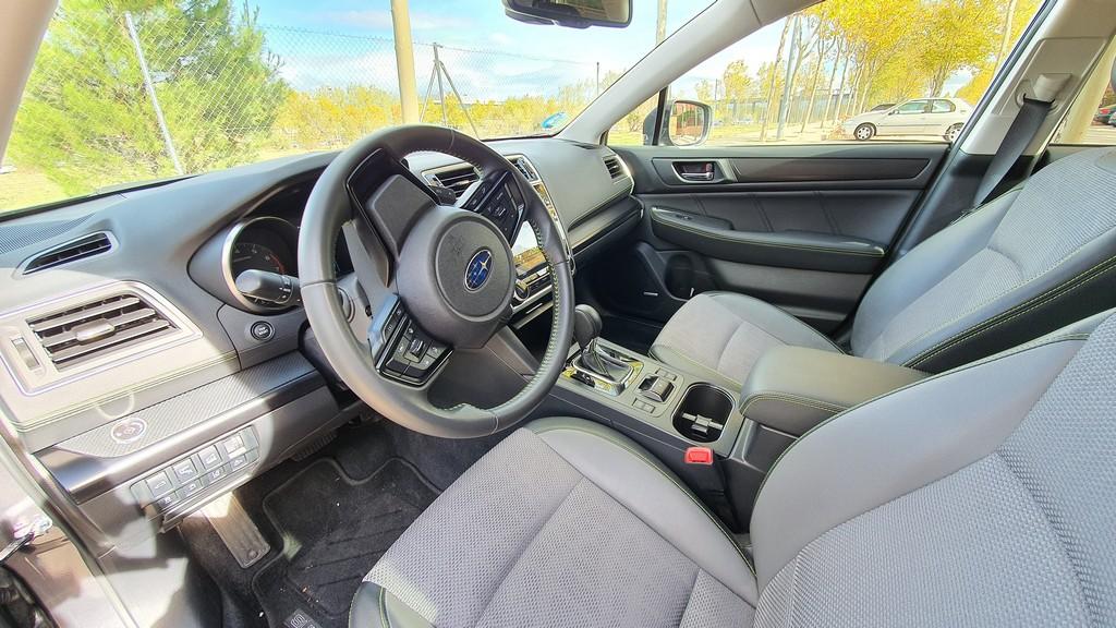Subaru Outback Bi Fuel, comprensión 42
