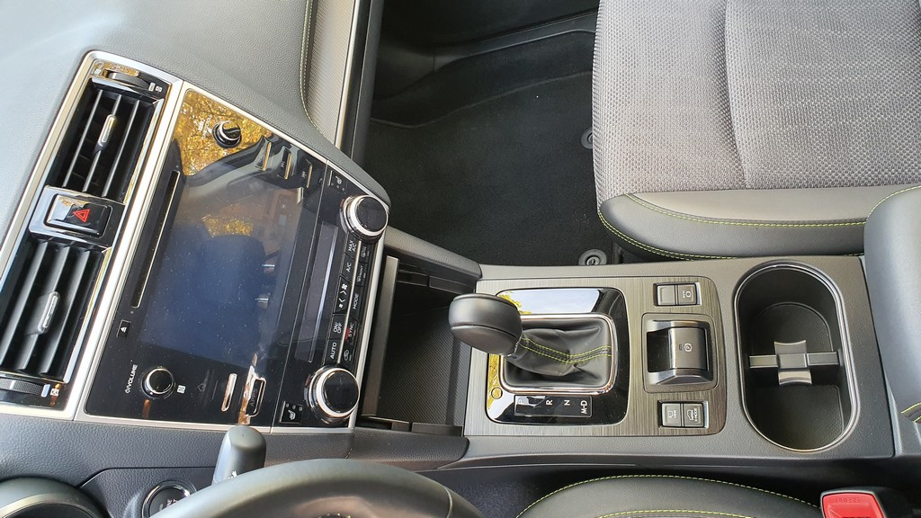Subaru Outback Bi Fuel, comprensión 46