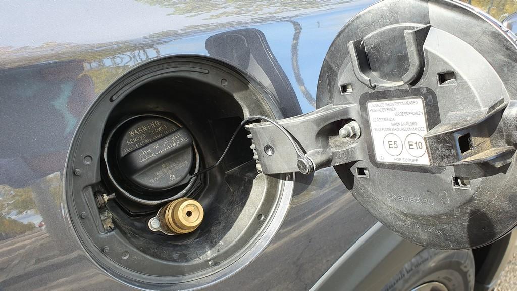 Subaru Outback Bi Fuel, comprensión 34