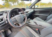 Lexus UX 250h, interpretación 91