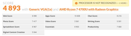 La APU Ryzen 7 4700U contará con una CPU de 8 núcleos a 4,2 GHz 31