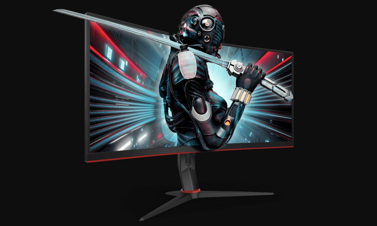 monitores AOC para juegos