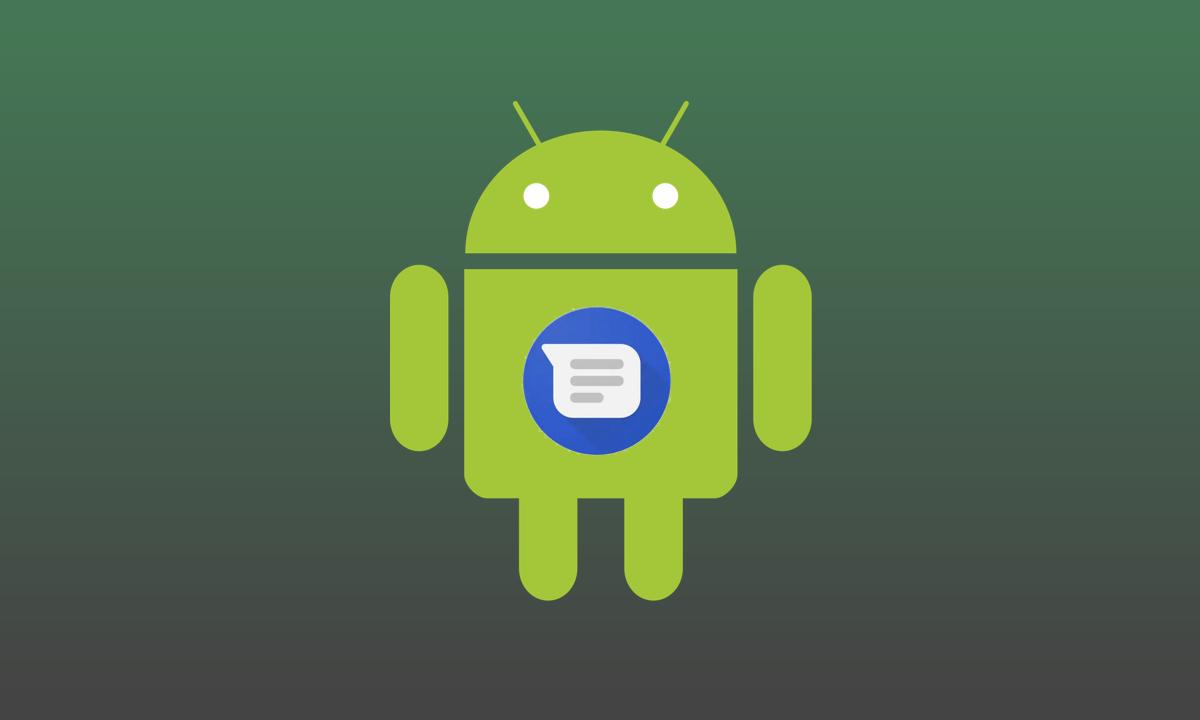Aplicación Mensajes de Android
