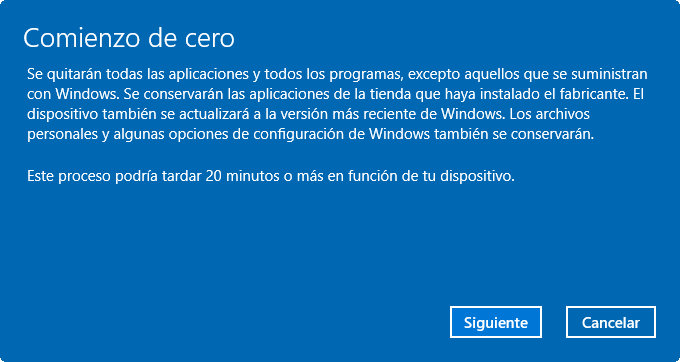 Bloatware de Windows 10