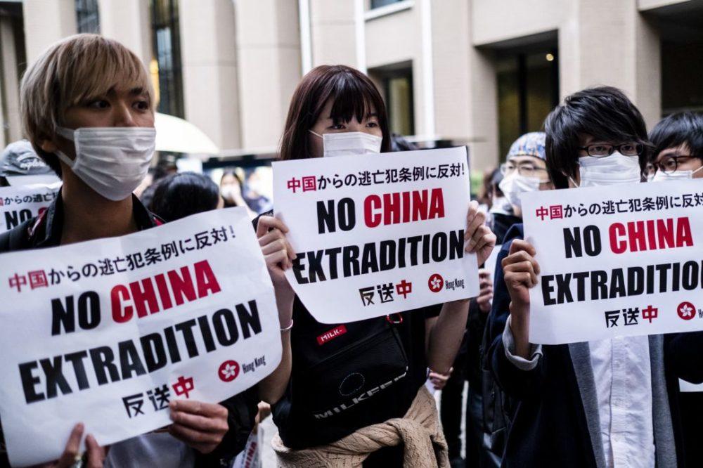 China Protestas