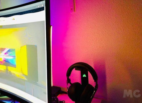 Corsair iCUE LS100 Smart Lighting Strip, análisis: deja que la luz te eleve a nuevas cimas 60