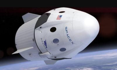 Elon Musk muestra el viaje de la cápsula tripulada Crew Dragon de Space X 45