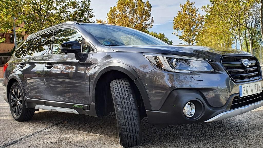 Subaru Outback Bi Fuel, comprensión 30