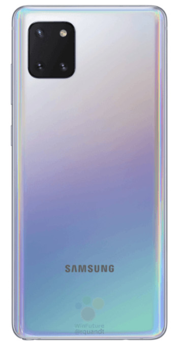 Las primeras imágenes del Galaxy Note 10 Lite llegan a Internet 30
