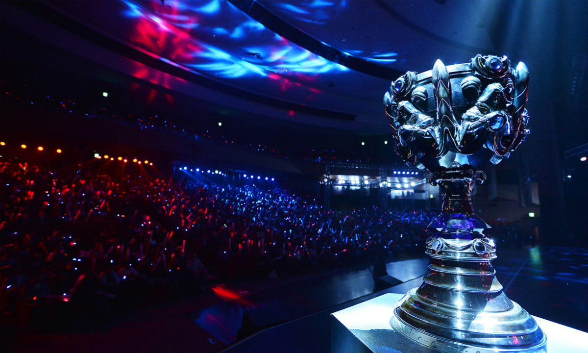 Game Awards LoL Worlds Final