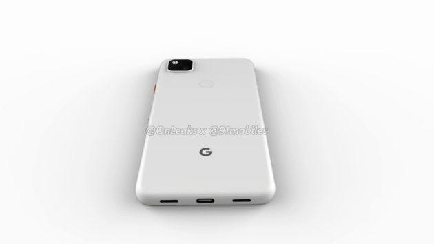 Se filtran renders que muestra el aspecto del Google Pixel 4a 37