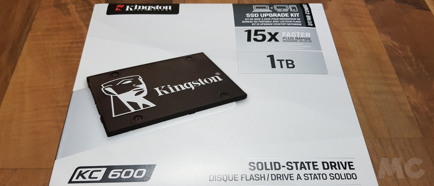 Kingston SSD KC600