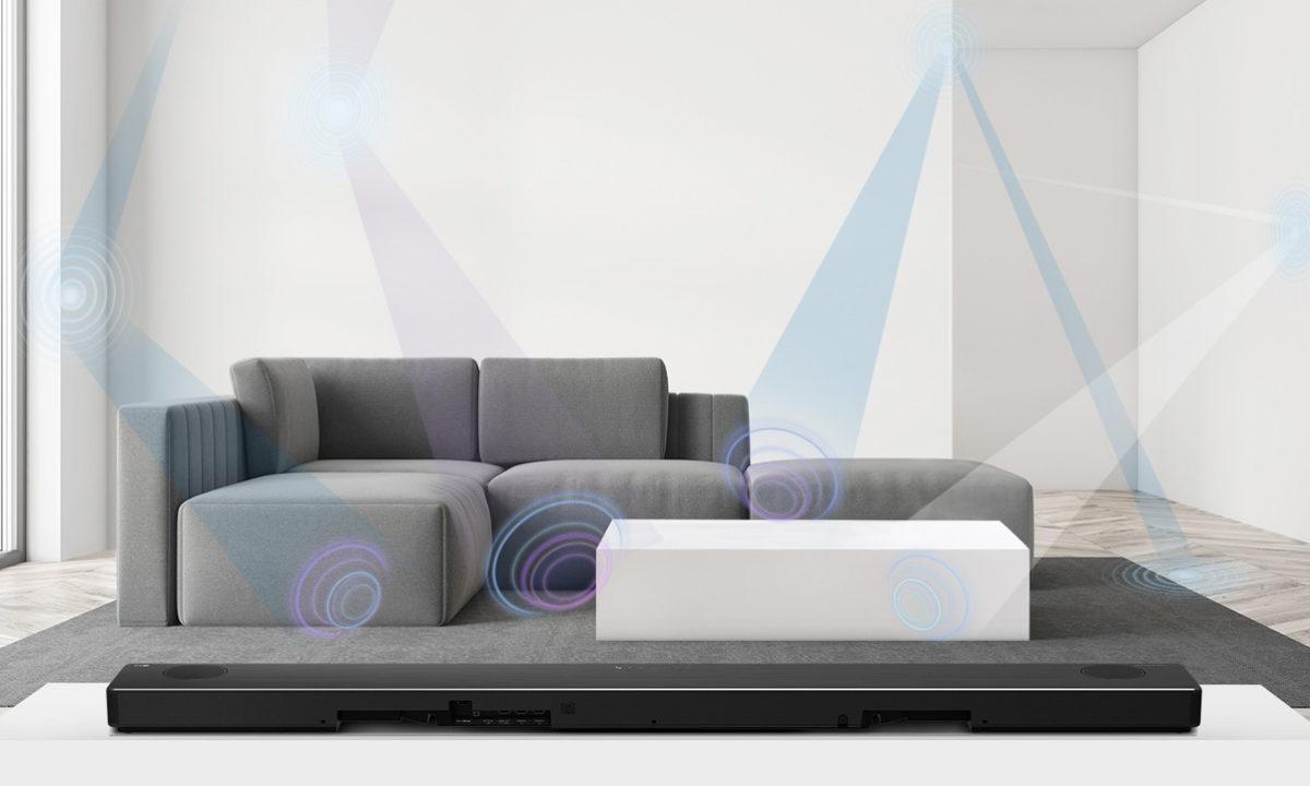 LG Barras de Sonido inteligencia artificial