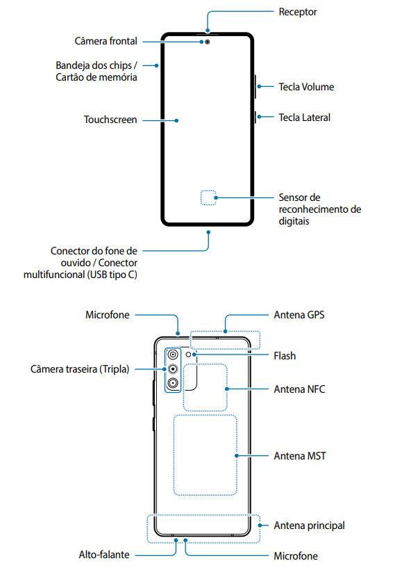 manual del Galaxy S10 Lite