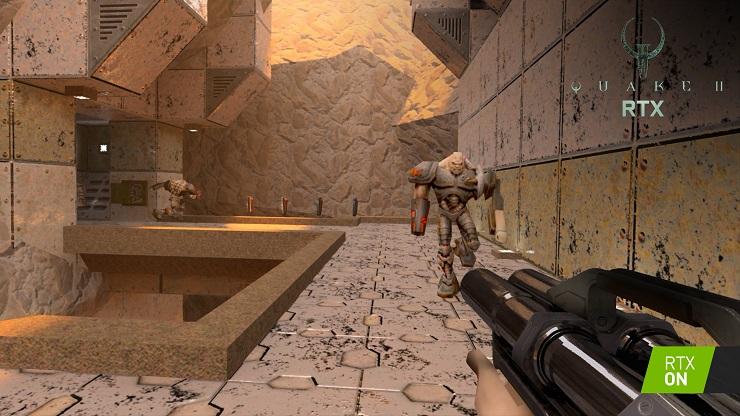 NVIDIA RTX serie 30 Quake 2