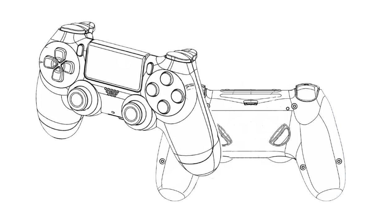 PS5 Dualshock 5 Patente