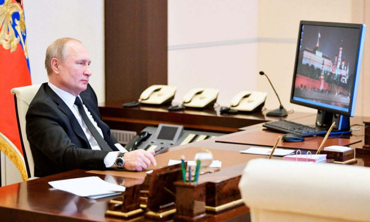Putin usa Windows XP