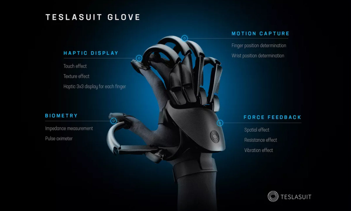 Teslasuit Glove VR
