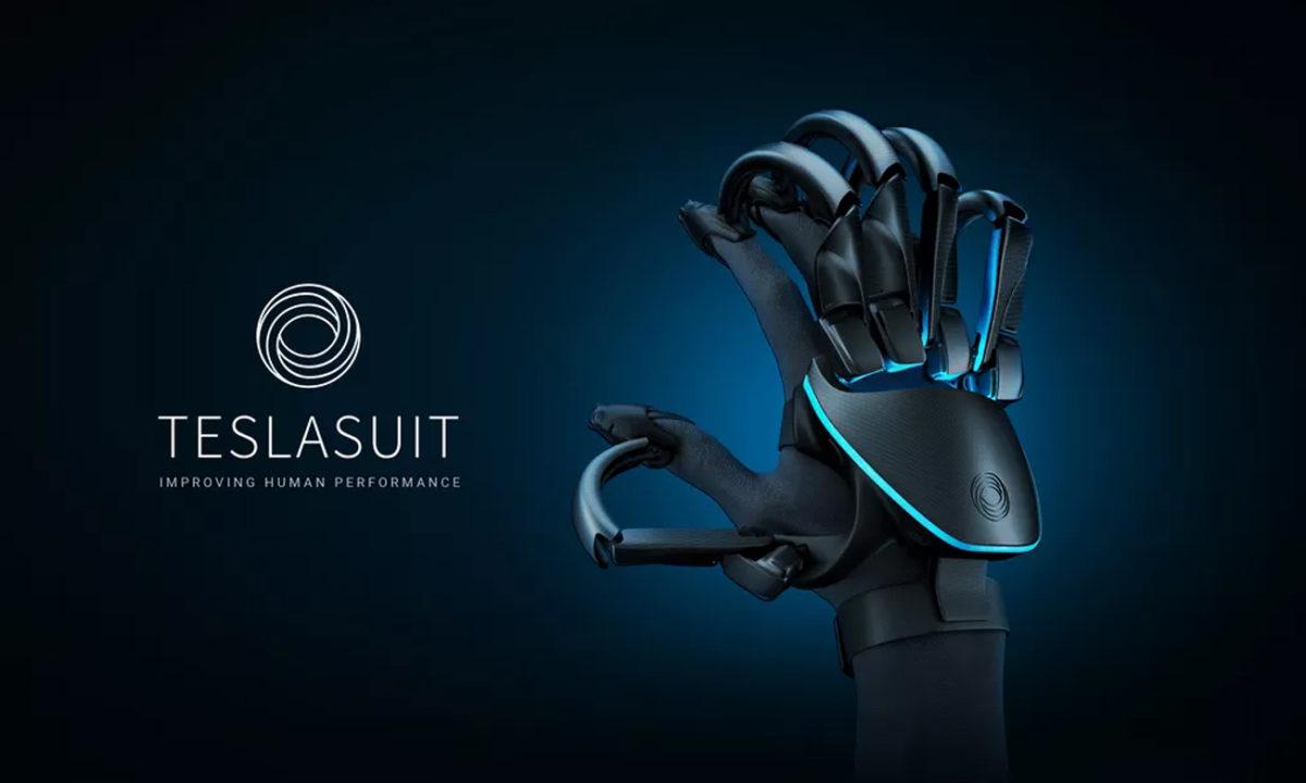 Teslasuit Guantes VR