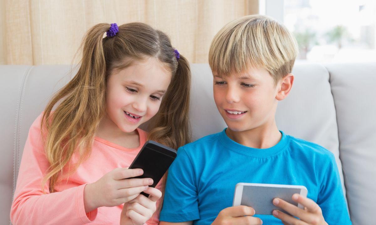 Uso del smartphone por parte niños y jóvenes