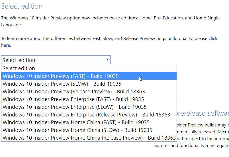 ISO para Windows 10 2004
