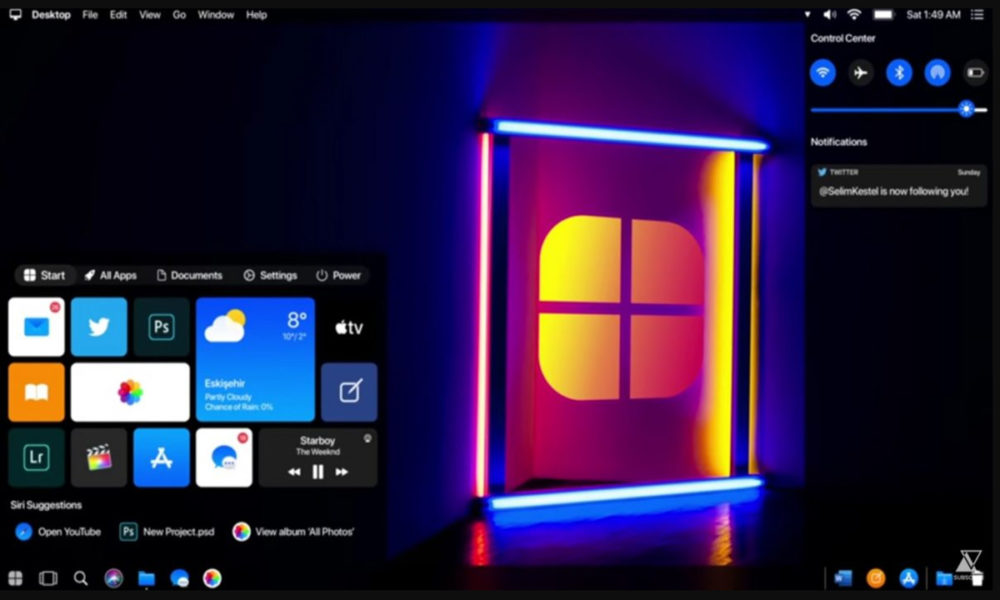 Resultado de imagen para Cómo sería Windows 10 desarrollado por Apple