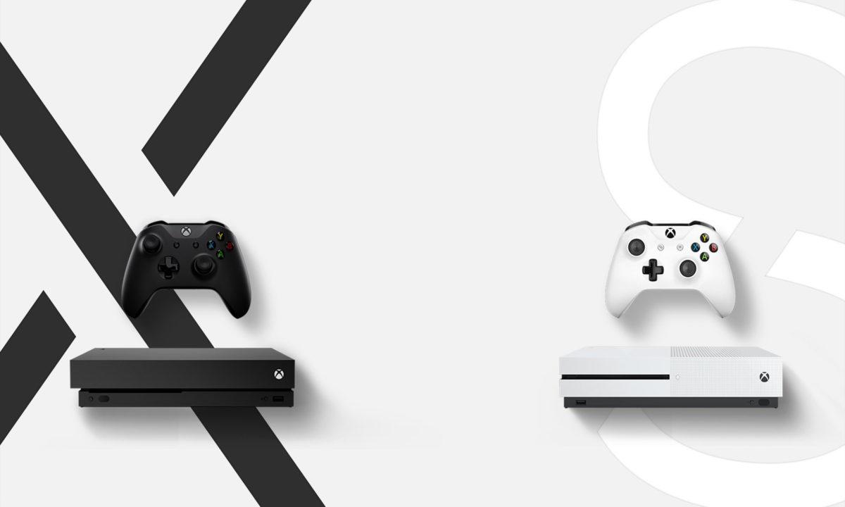 Xbox X y Xbox S
