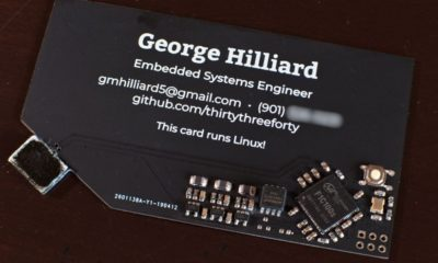 tarjeta visita ordenador Linux