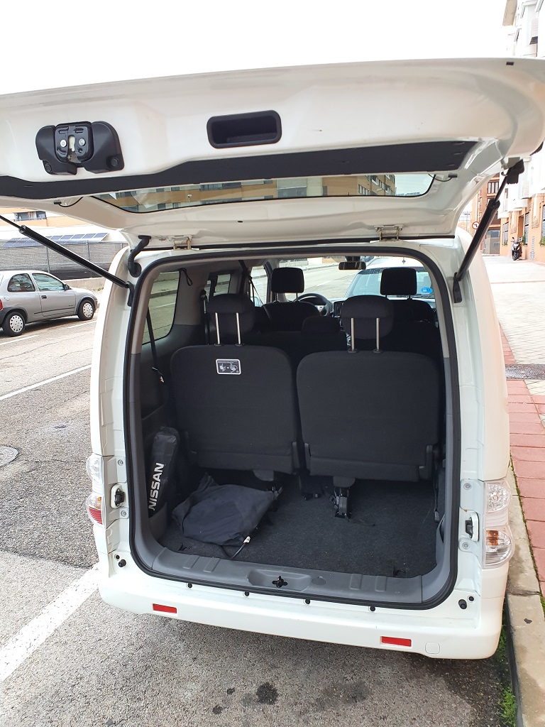 Nissan e-NV200, elocuencia 46