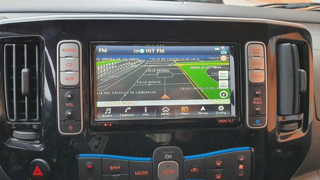 Nissan e-NV200, elocuencia 40