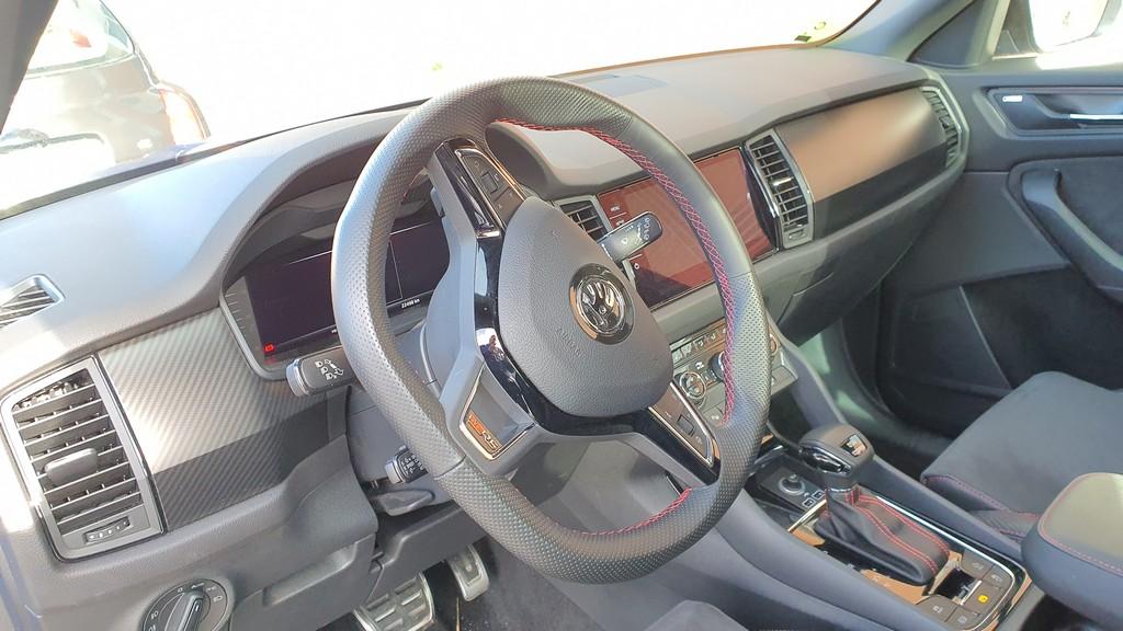 Skoda Kodiaq RS, garra 40