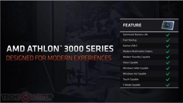 Características de AMD Athlon 3000