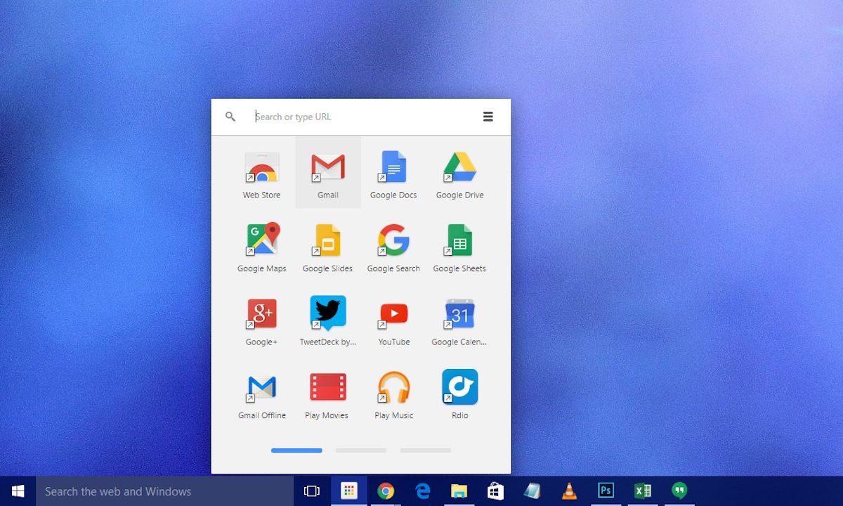 Apps de Chrome