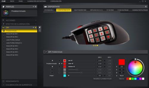 Corsair Scimitar RGB Elite, análisis: la llave maestra que te abrirá el camino hacia la victoria 61