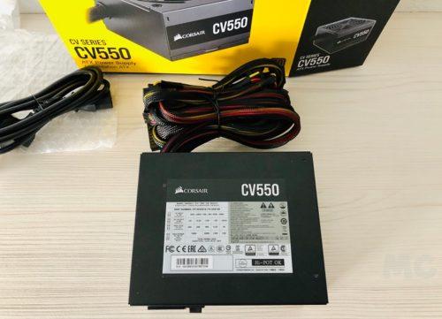 Corsair CV550, análisis: un valor sólido para montar un PC gaming económico 46