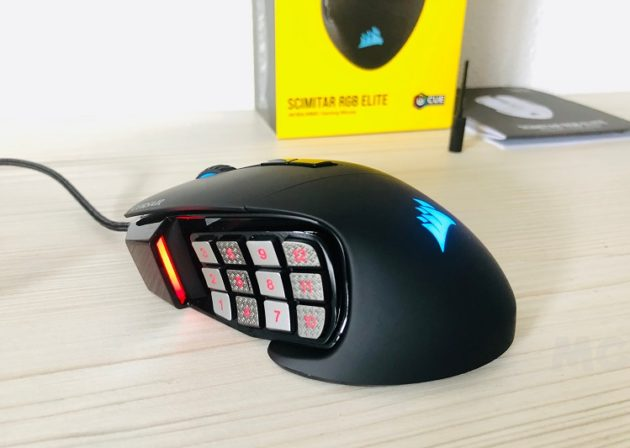 Corsair Scimitar RGB Elite, análisis: la llave maestra que te abrirá el camino hacia la victoria 71