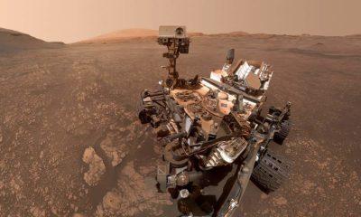 El rover de la NASA Curiosity