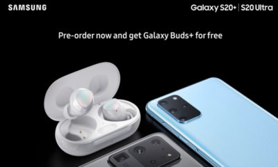Galaxy Buds+ para los Galaxy S20 Plus y Ultra