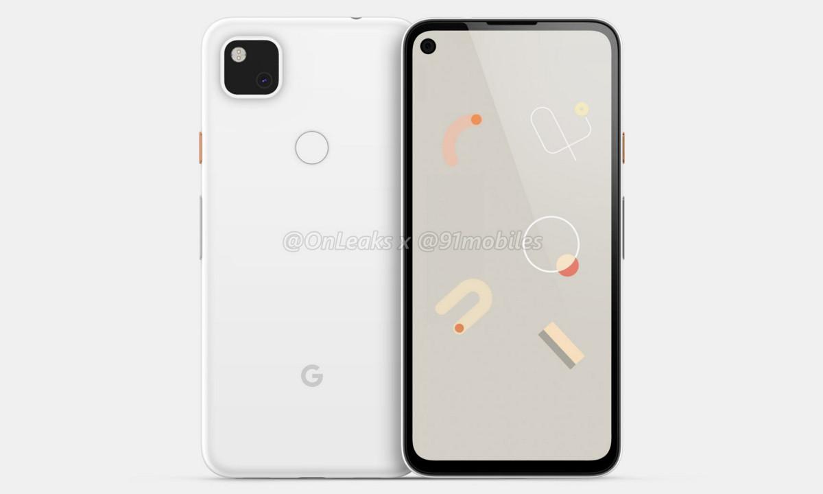 Google Pixel 4a con soporte de 5G
