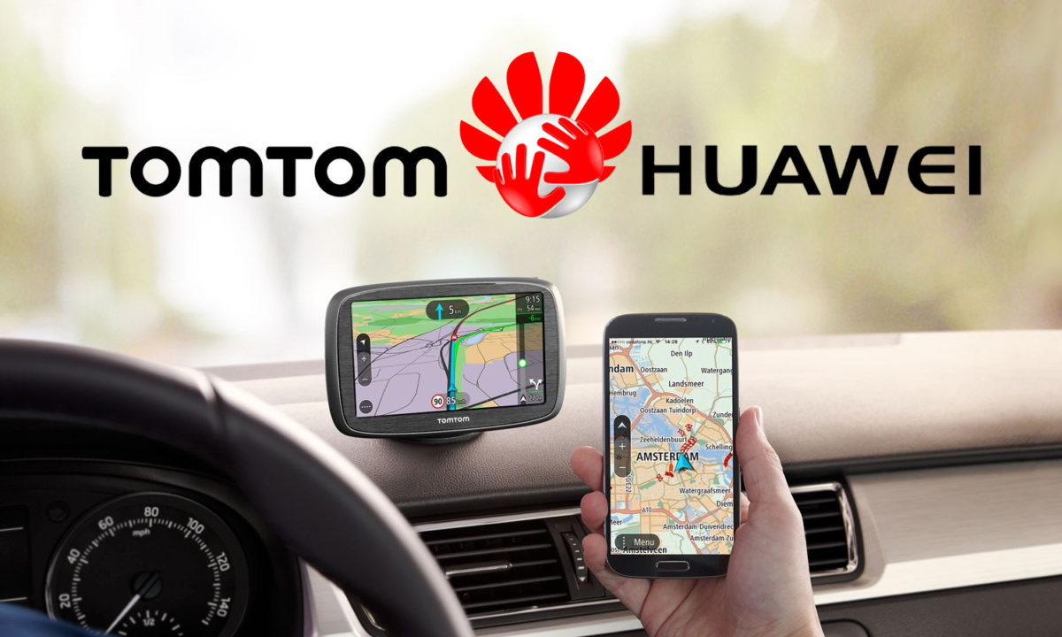 Huawei TomTom Google Maps
