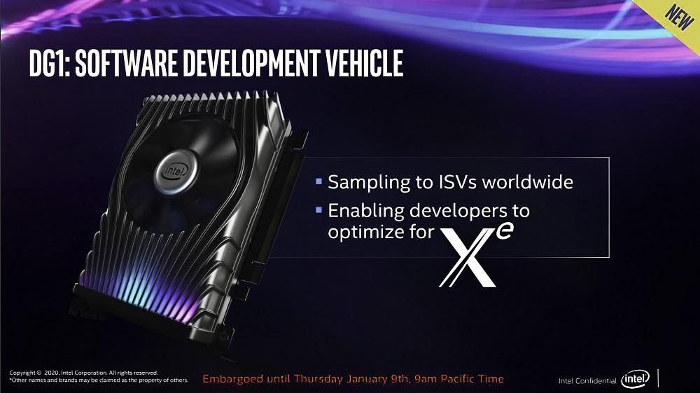Así es la tarjeta gráfica Intel Xe DG1, compacta y con iluminación LED 30