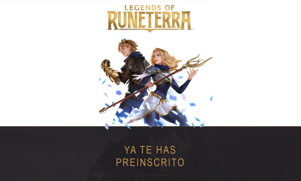 Legends of Runeterra Beta Abierta
