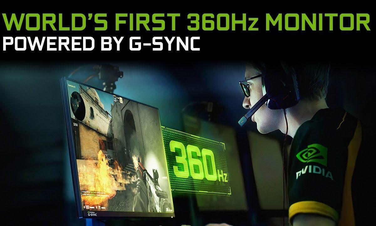 Monitor de 360Hz de NVIDIA
