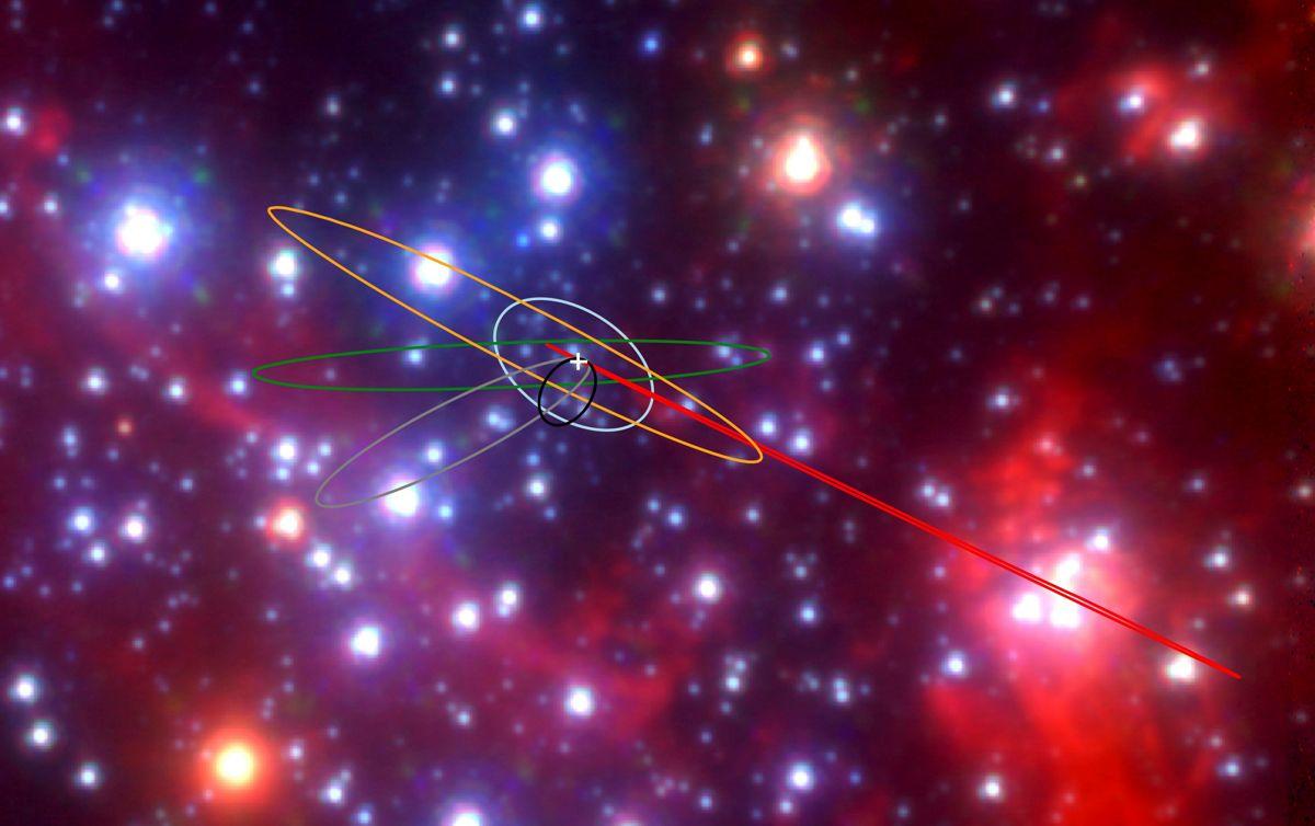 Objetos G que oriban el agujero negro supermasivo Sagitario A*