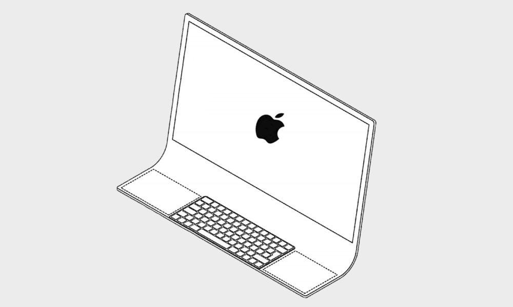 Apple plantea un Mac flexible hecho a partir de un vidrio curvado