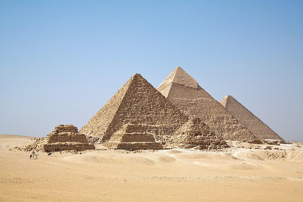 Pirámides del Antiguo Egipto