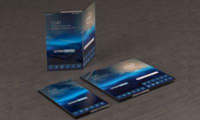 Smartphone plegable de Intel