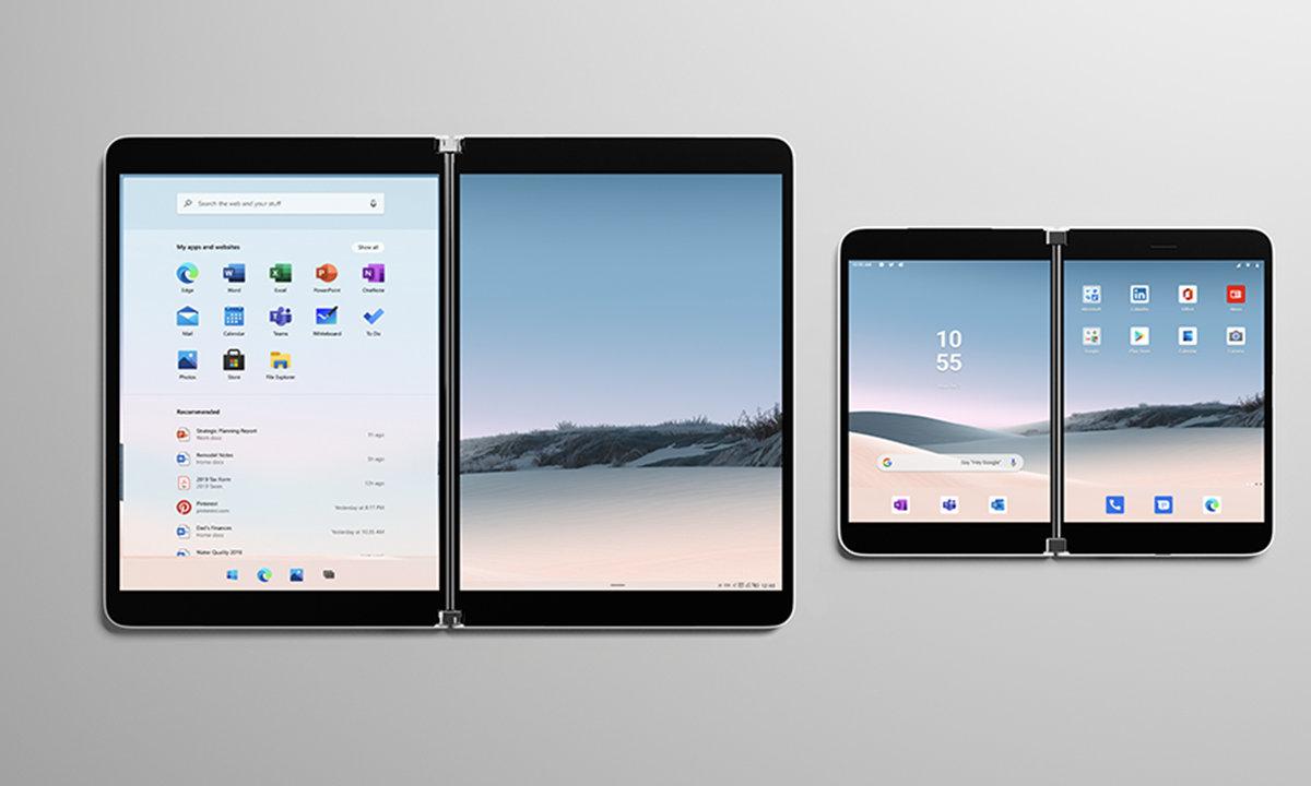 Surface de doble pantalla