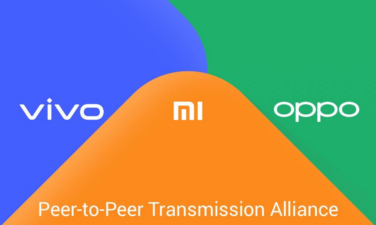 Vivo, Xiaomi y Oppo en la Peer-to-Peer Transmission Alliance